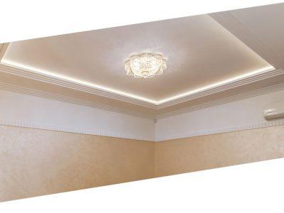 Что лучше - натяжной потолок или штукатурка