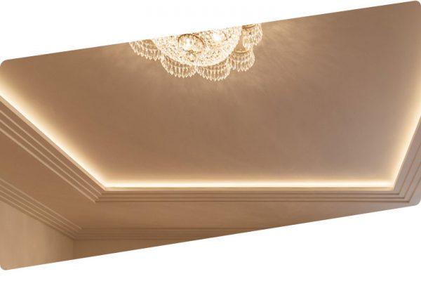 Как сделать парящий потолок из гипсокартона