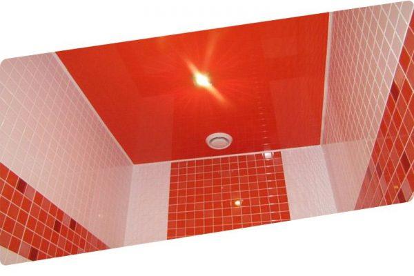Делают ли натяжные потолки в ванной комнате