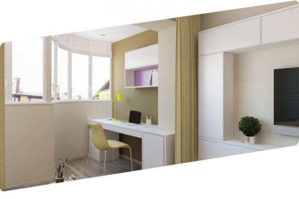 Можно ли объединить балкон с комнатой